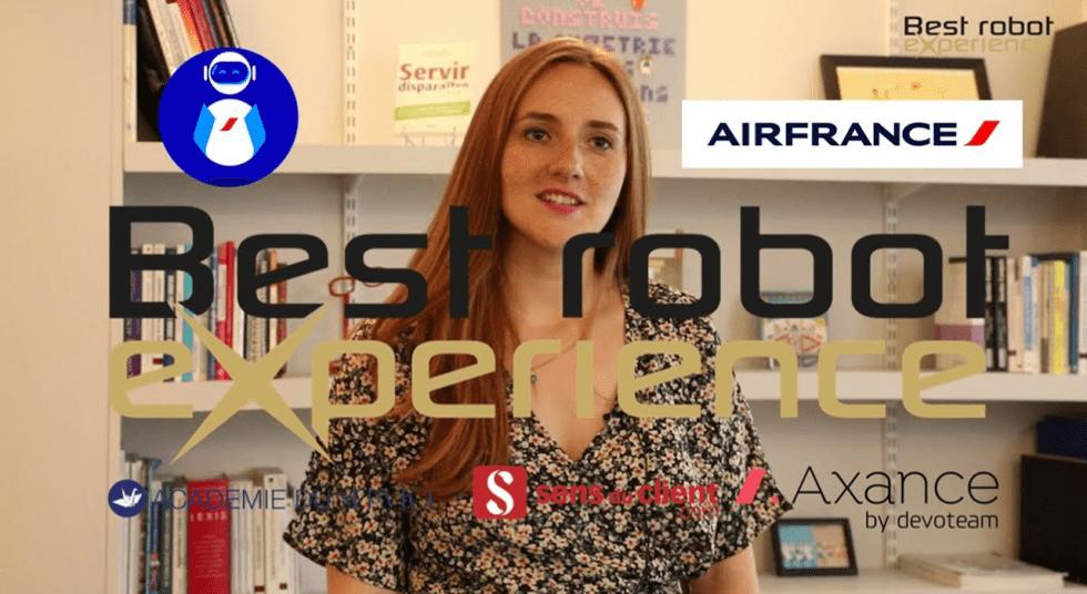 Best Robot XC 2019 - Air France