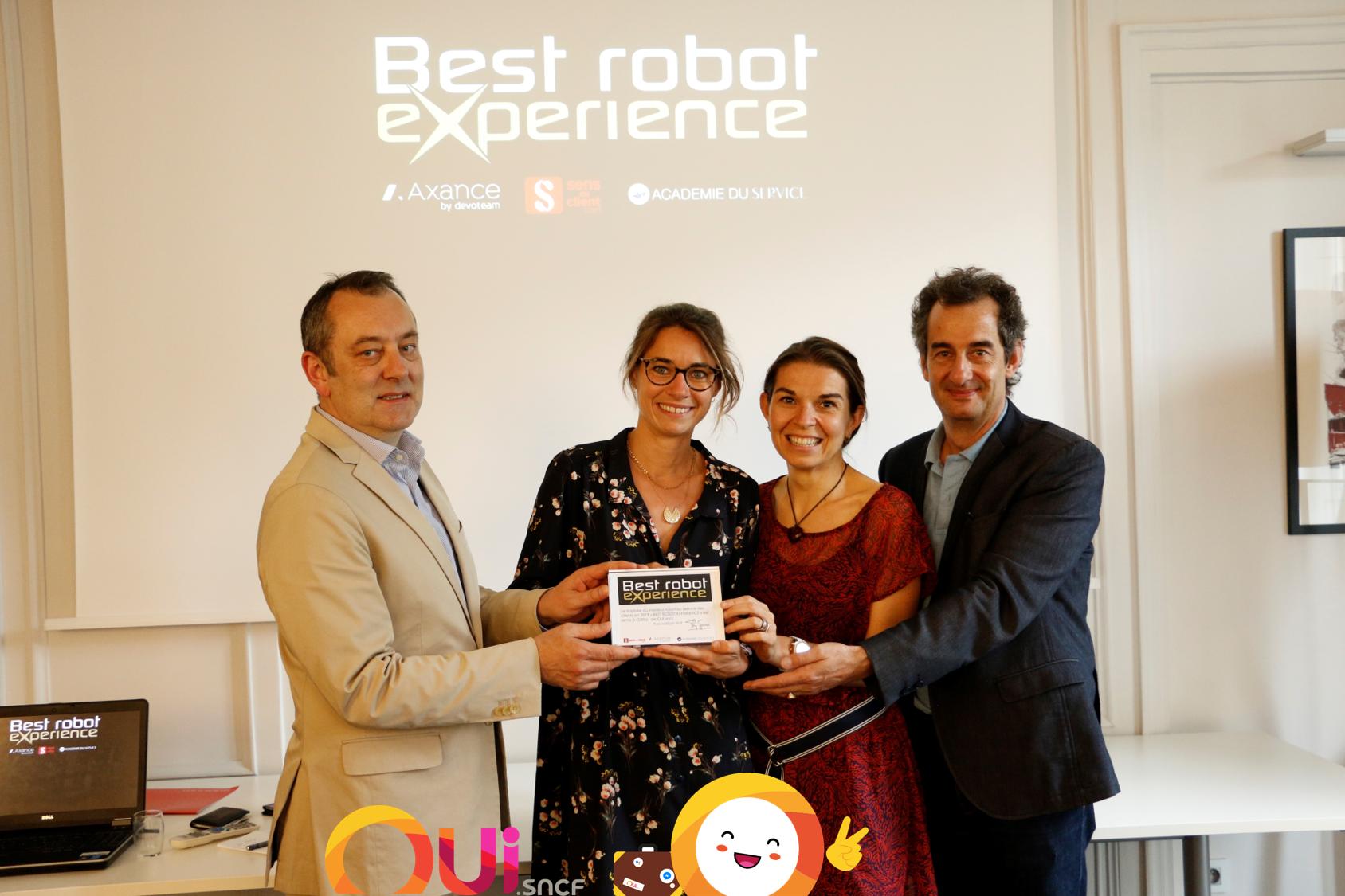 Recompense OUIbot 2019