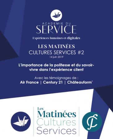 Matinée Cultures Services Politesse et savoir-vivre