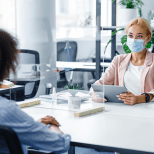 gestes barrières et relation client