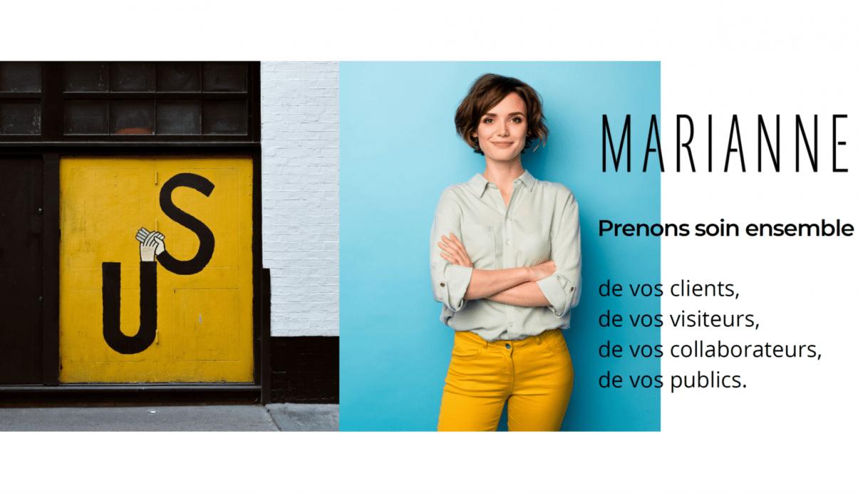Faire vivre une expérience dès l'accueil : l'ambition de Marianne International