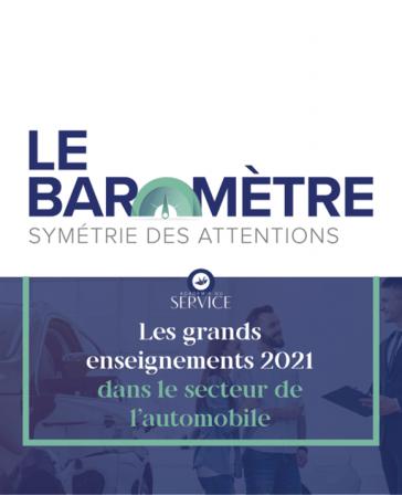 Baromètre Symétrie des Attentions Automobile