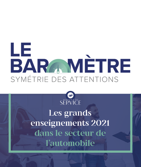 Baromètre Symétrie des Attentions Automobile
