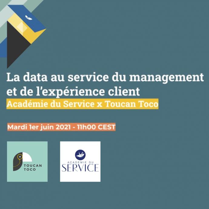 Webinar data expérience client