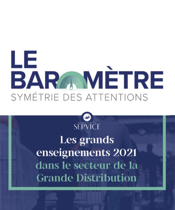 Baromètre Symétrie des Attentions Grande Distribution 2021