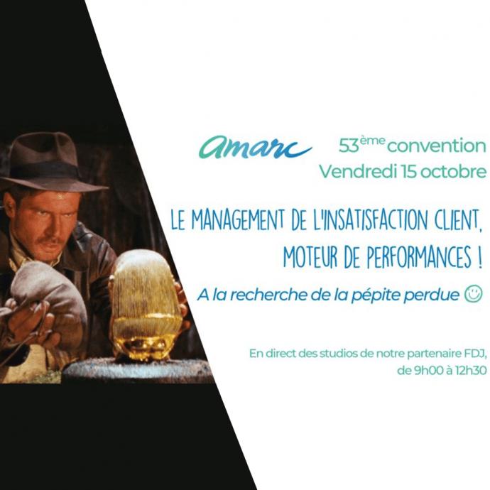 53eme convention Amarc irritants innovations transformations
